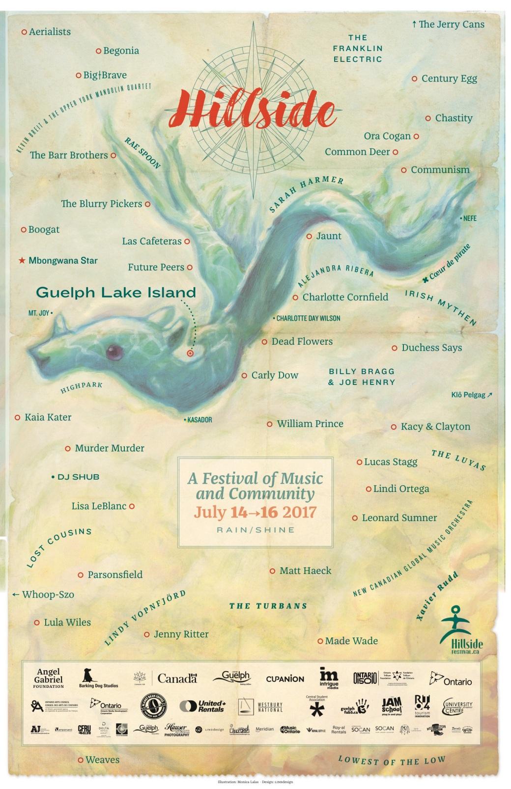 Poster souvenir Hillside Summer 2017 pic